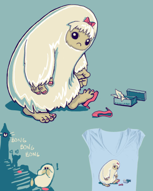 Every yeti has her prince. You can vote for this design on threadless.