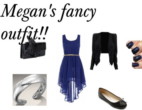 Megan's outfit!! by kierseygirls featuring a clutch purseStudded jacket / Dress shoes / Christian Louboutin clutch purse / John Hardy sterling silver bangle