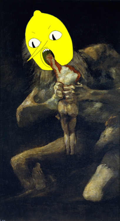 lemongrabsheadpastedonthings:  Lemongrab devouring his son