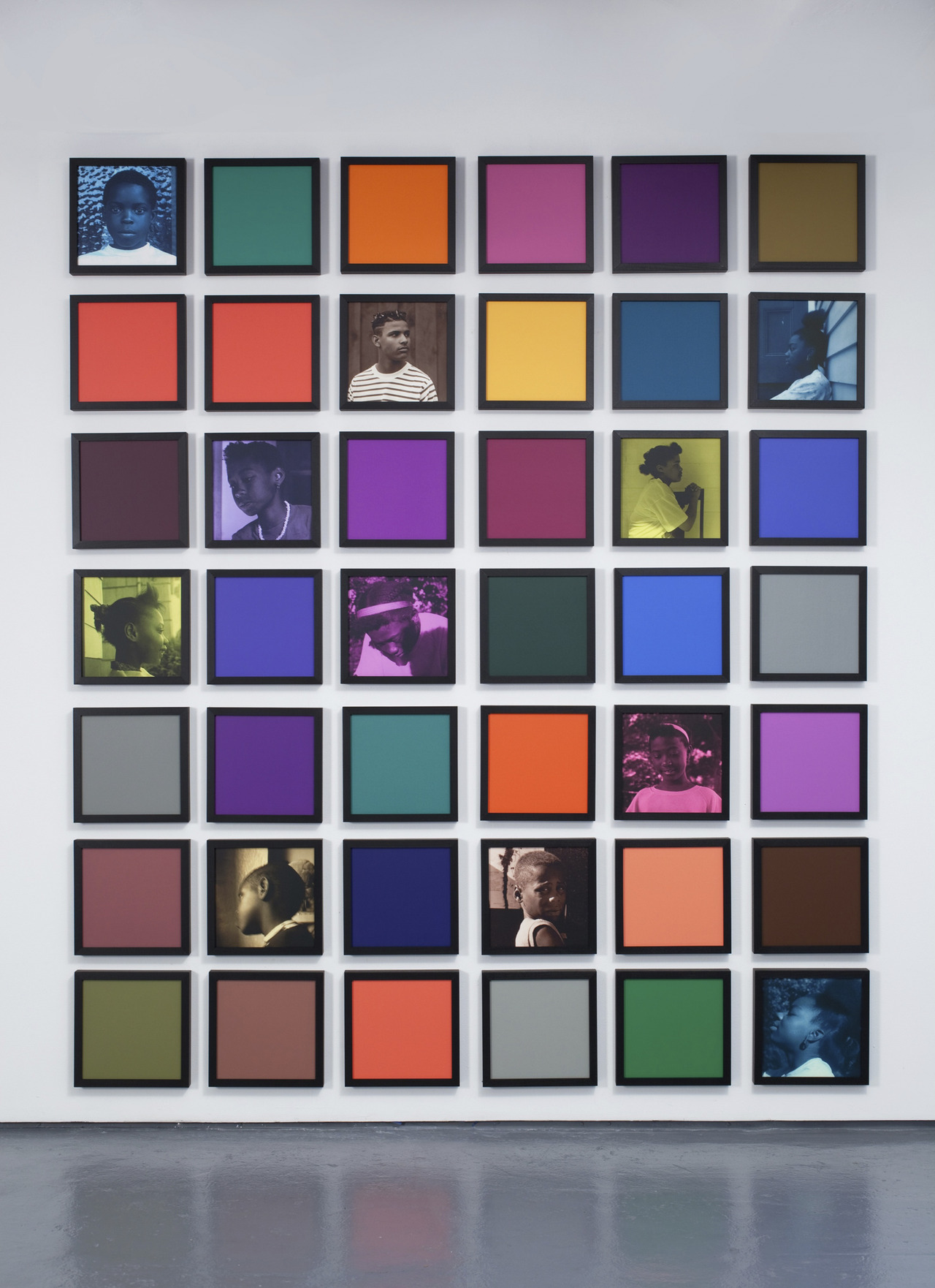 Carrie Mae Weems, Untitled (Colored People Grid), 2009–10. Courtesy of the artist and Jack Shainman Gallery, New York. Copyright Carrie Mae Weems.