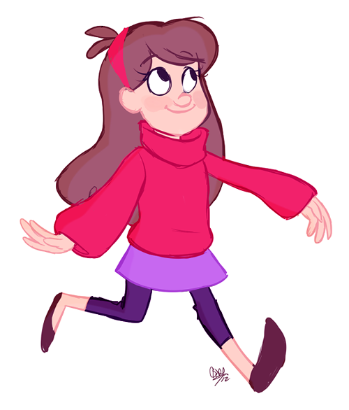 I can't believe I haven't done Gravity Falls artwork yet, because I love that show.