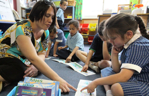 "selchieproductions:  [image: Woolston School junior bilingual Maori class teacher Dot Singh with pupils, from left, Oceana Jorgensen, 6, Aiyanah Kainuku, 5, Corbin Fahey, 6, and Rongomaiwahine Rutene, 6.] © The Press Maori education will be ""decimated"" if proposals to cut 70 per cent of bilingual and immersion classes go ahead. The Education Ministry proposes to close or merge seven out of 10 Christchurch schools that offer Maori education. The move appears to conflict with the Government's Maori education strategy that is designed to affirm Maori identity, language, culture and raise academic achievement. The ministry said this month that Christchurch had a ""limited range of immersion and bilingual options"". Ngai Tahu chairman Mark Solomon said the iwi was seeking more information about the proposals, which were ""inconsistent with this kaupapa [policy]"". Ngai Tahu was not formally consulted before the proposals were announced, he said. Under the proposals, three schools could close and two could merge with other schools that do not offer bilingual classes. Te Kura Kaupapa Maori schools Te Whanau Tahi and Te Kura Whakapumau Te Reo Tuturu Ki Waitaha could merge. Both lodged complaints with the Waitangi Tribunal last week. Maori resource teacher Gaynor Hakaria, who co-ordinates and supports Maori education in Christchurch's eastern suburbs, said the proposal ""goes against ministry strategy"". ""I can't understand why there there has been no consultation with schools that have unique programmes,"" she said. ""We don't have enough information to know what or how Maori medium education will look in the future."" Most bilingual and immersion classes have full rolls. Woolston School has a waiting list to join the 60 pupils spread over three bilingual classes. Principal Janeane Reid said there had been no discussion about how bilingual classes would continue if the proposed merger with Phillipstown School went ahead. Branston Intermediate principal Jennifer O'Leary said bilingual education would be ""decimated"" by the changes that might see the school close. Closing so many facilities would significantly reduce choice for parents, she said. The ministry's Shaping Education document says ""the education system in Christchurch has underperformed for a disproportionate number"" of young Maori. The ministry envisages Maori pupils developing a strong identity of language and culture and for Ngai Tahu and Maori to have a strong influence in the education system."