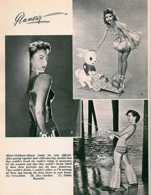 Film Review 1951-52 Vera-Ellen, Ava Gardner & Debbie Reynolds | Flickr - Photo Sharing! on We Heart It. http://weheartit.com/entry/38497656