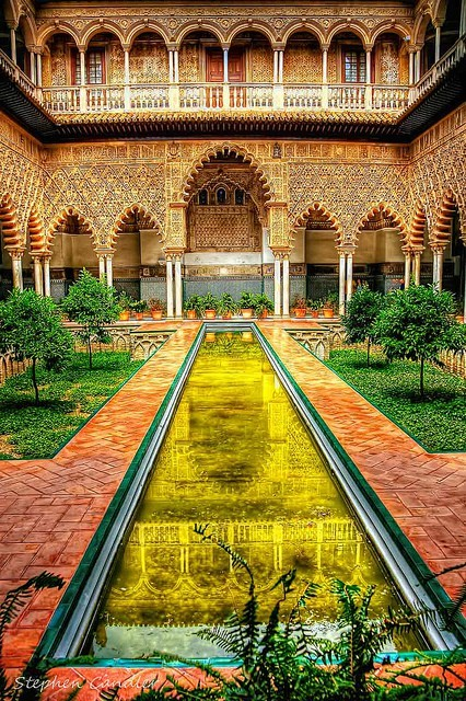 The Alcazar Palace, Seville, Spain