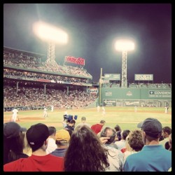 There's one last chance to play Dirty Water at Fenway this year - #fenwaypark #boston #redsox #redsoxnation #greenmonstah #tampabay #rays #dirtywater #boxseats #letsgoredsox (Taken with Instagram)
