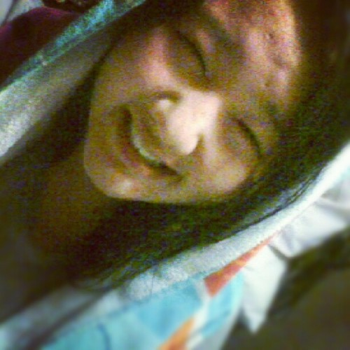 My skin's so much lighter after I take my shower lol (Taken with Instagram)
