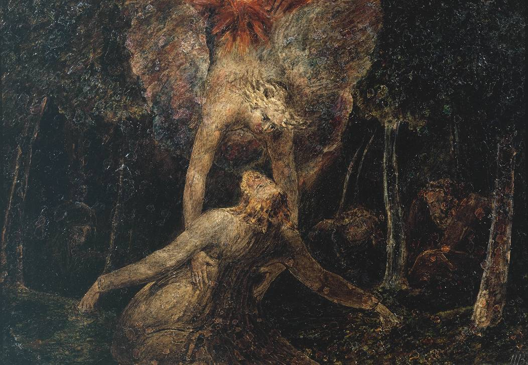 thorsteinulf:  William Blake - The Agony in the Garden (1799-1800)