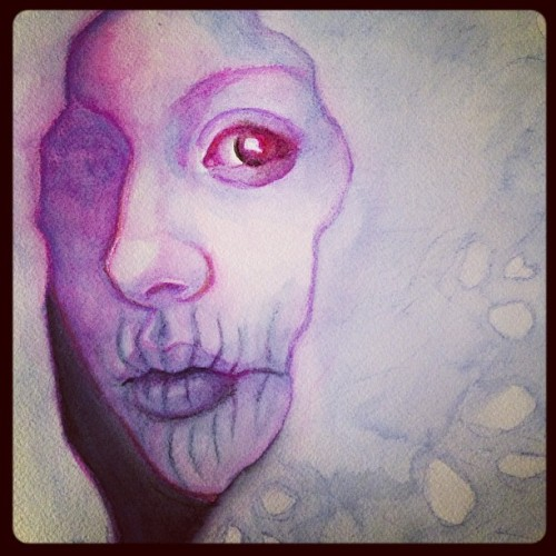 jskaphobe:  Progress! #art #illustration #painting #watercolor  (Taken with Instagram)