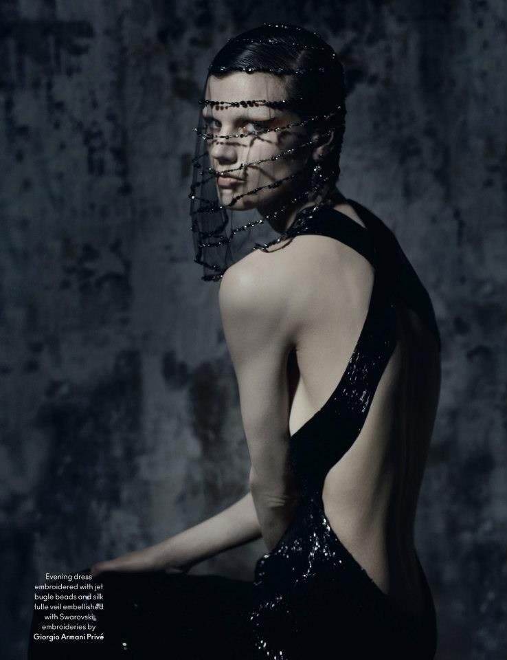 Saskia De Brauw: Modern Couture - AnOther by Ruth Hogben, Fall/Winter 2012-13