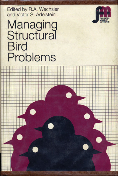 Managing Structural Bird Problems (design by Julian Montague) via It's Nice That structural bird problems?