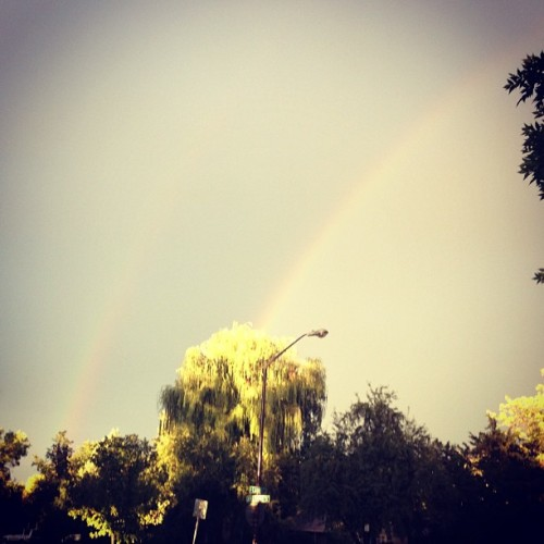 Double Rainbow! 🌈🌈 (Taken with Instagram)