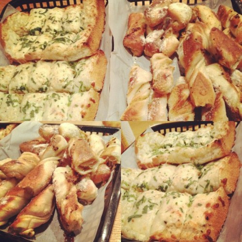 #foodporn #instagood #yummyinmytummy #yum #foodcoma #breadstick #food  (Taken with Instagram)