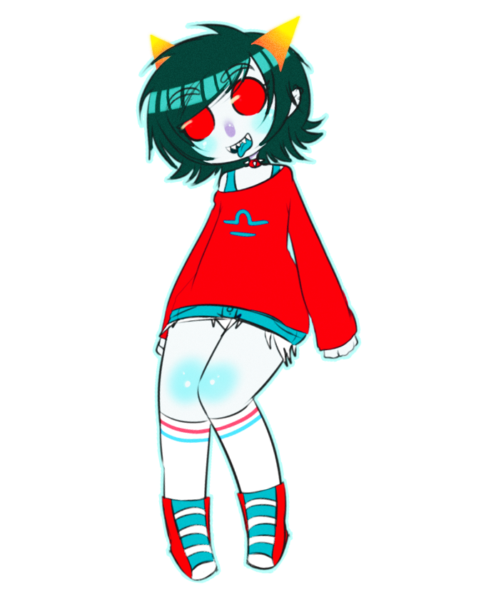 sleeping-beauty-pills:  because desii wanted me to draw more terezi (◡‿◡✿)