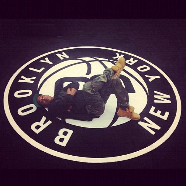 JEFE 🙌 #NBA2k13 x #BrooklynNets x #JayZ x #NewYork 👌 (Taken with Instagram)