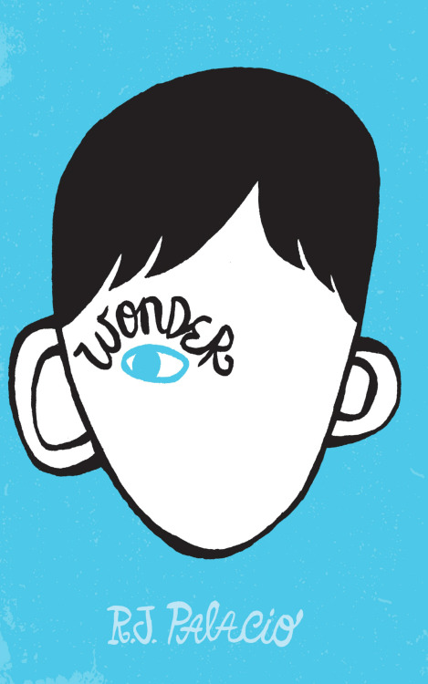 Wonder by R.J. Palacio, cover by Tad Carpenter.