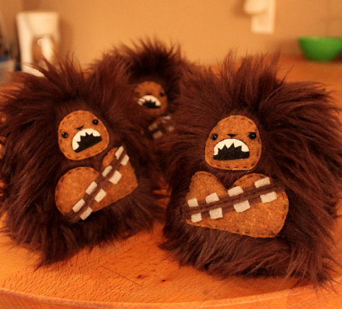 Wookie in my Pocket by Chelsea Bloxsom