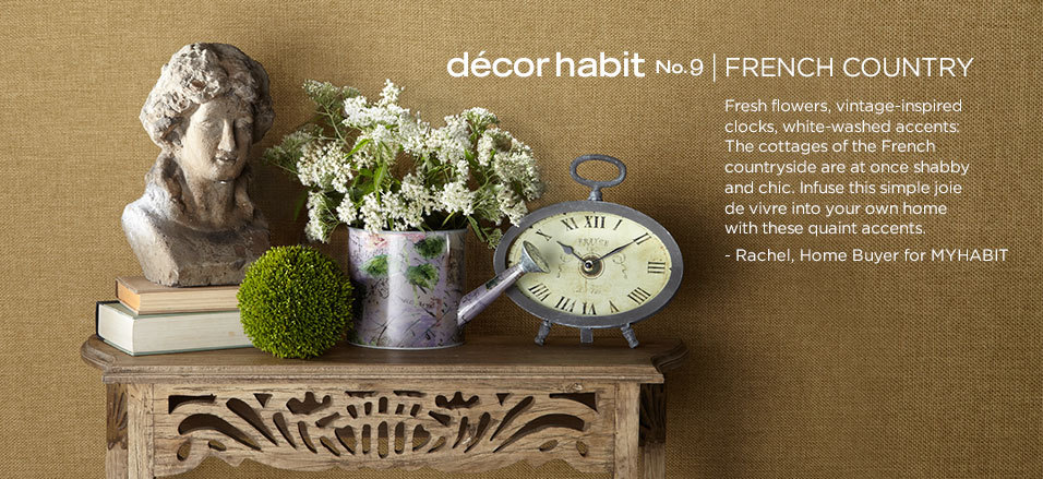 French Country Home Decor - On Sale Now at MYHABIT - myhabit.com