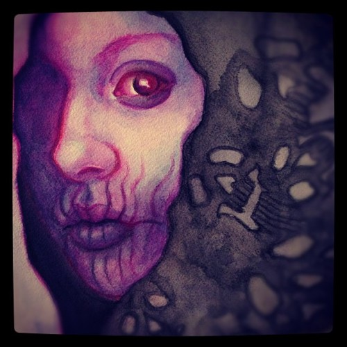 jskaphobe:  Getting there! #art #illustration #painting #watercolor (Taken with Instagram)
