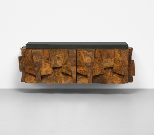 analogdialog:  Paul Evans Floating Credenza | 1975