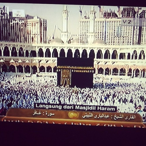 wish be there. rindu Kaabah sgt !! (Taken with Instagram)
