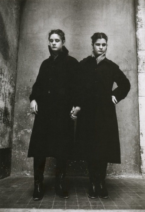 Jane Evelyn Atwood - Blind Twins, 1980