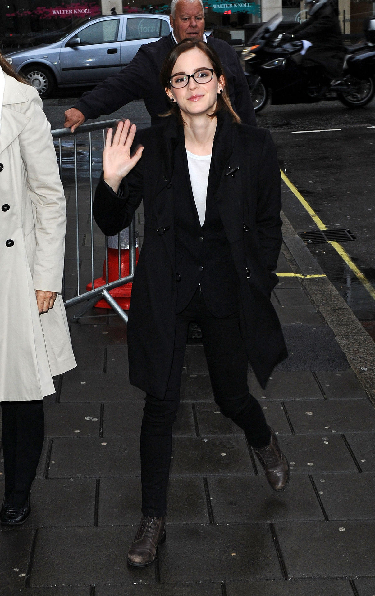 Emma Watson at BBC Radio 1 in London, September 26th ADORKABLE!