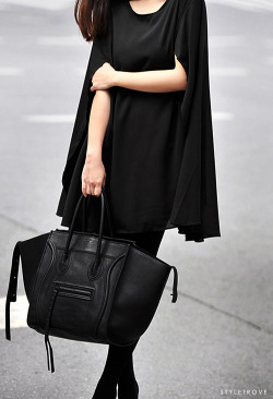 styletrove:  I think the Celine tote will be my eternal favourite accessory.