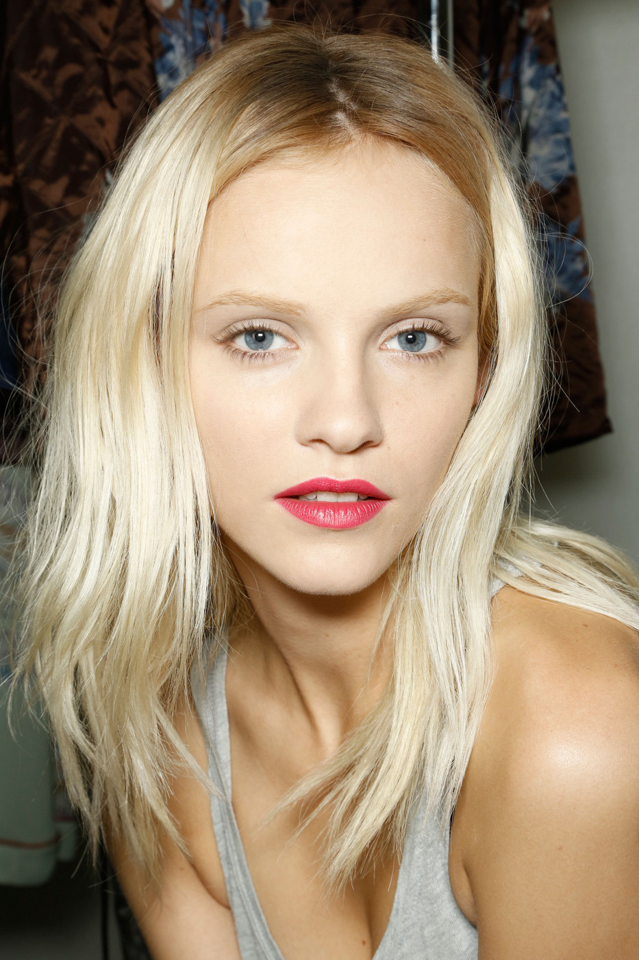 fashionfever:  Ginta Lapina backstage at Dries Van Noten Spring 2013