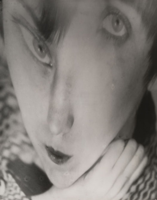 inneroptics:  Berenice Abbott   Creepy Thursday creeps in like a creep. A misaligned two-eyed creep.