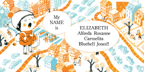 My Name is Elizabeth by Annika Dunklee, illustrated by Matthew Forsythe.