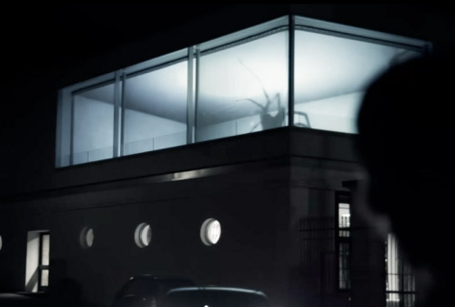 Spider Projections by Friedrich van Schoor By building a miniature scale model of this glass front house and throwing a couple of hyperactive spiders inside, Friedrich was able to record the results and project them in the real home to create a nightmarishly terrifying illusion. Either that, or he did in fact create giant spiders, in which case I think it's about time we all lived on boats. A video displaying the spine tingling illusion is below.  Artist: | Vimeo | [via: welikethat / designboom]  Watch: