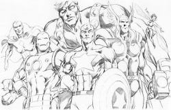brianmichaelbendis:   the avengers by Alan Davis