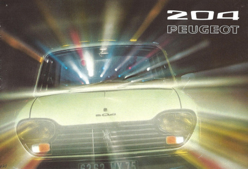 1972 Peugeot 204 by Hugo90 on Flickr.1972 Peugeot 204