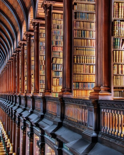 Someday I will go to the Trinity library…