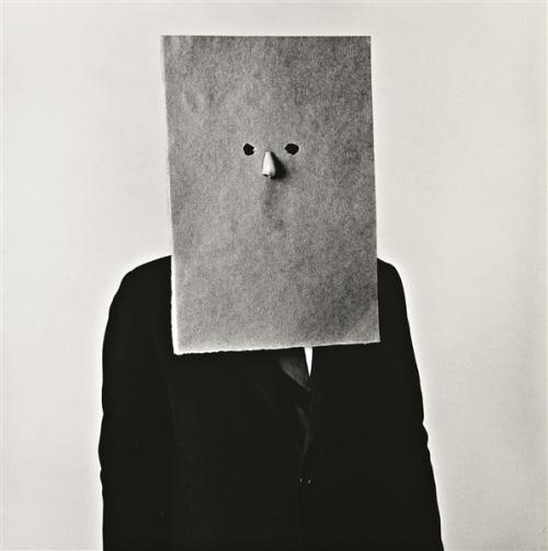 loverofbeauty:  IRVING PENN: Saul Steinberg, New York,  1966