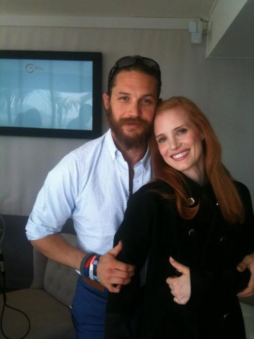 Tom & Jessica in Cannes, May 2012.