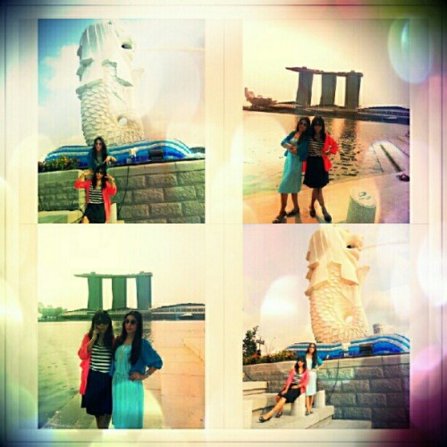 Merlion, Sg @devihaerani #vacation #instago  (Taken with Instagram)