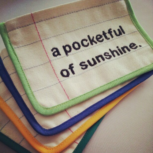 A Pocketful Of #Sunshine - special order request, and soon to debut in the website and our stockists! #handmade #pouch #notebook #embroidery #littleoddforest #forestprints #singapore #indielabel #lifestyle http://www.forestprints.com  (Taken with Instagram)