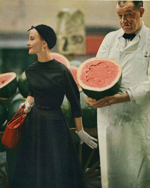 by Karen Radkai for Vogue, July 1953