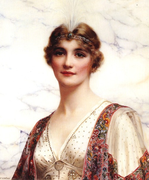 Wontner William Clarke(1857-1930) - The Fair Persian