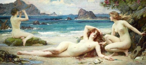 Henrietta Rae (1859 -1928) - The Sirens, c. 1903.