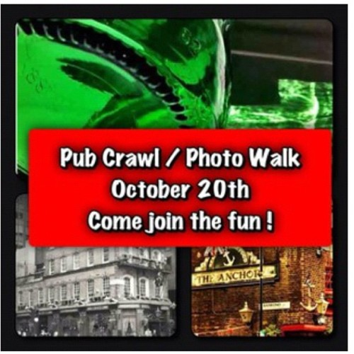 Please join us for a pub crawl photo treasure hunt details on Meetup http://www.meetup.com/Instagram/London-GB/765632/ (Taken with Instagram)