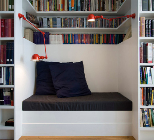 myidealhome:  gorgeous reading nook (via desire to inspire)