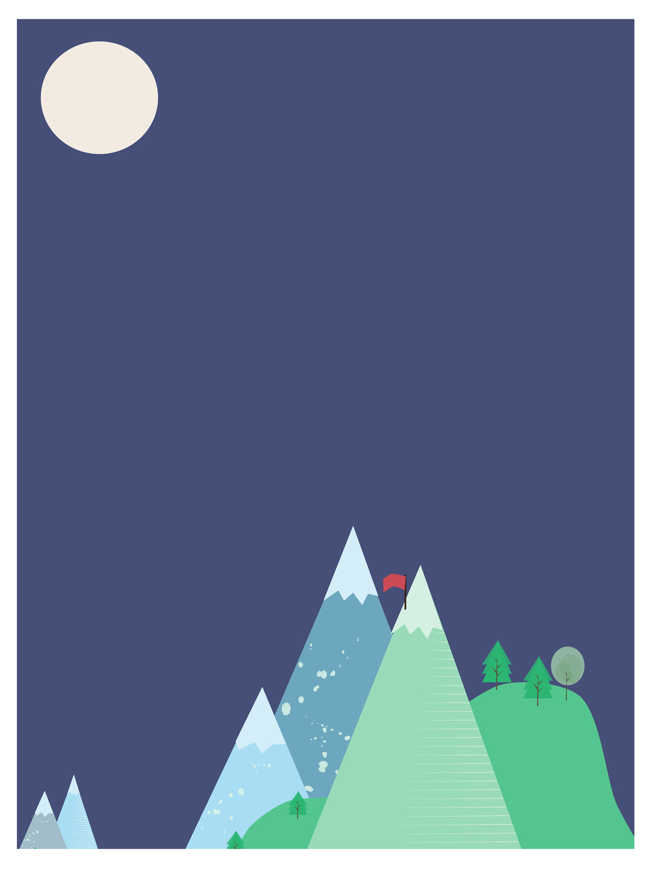 New print available on society6 :) http://society6.com/idledoodles/Mountains-BOI_Print