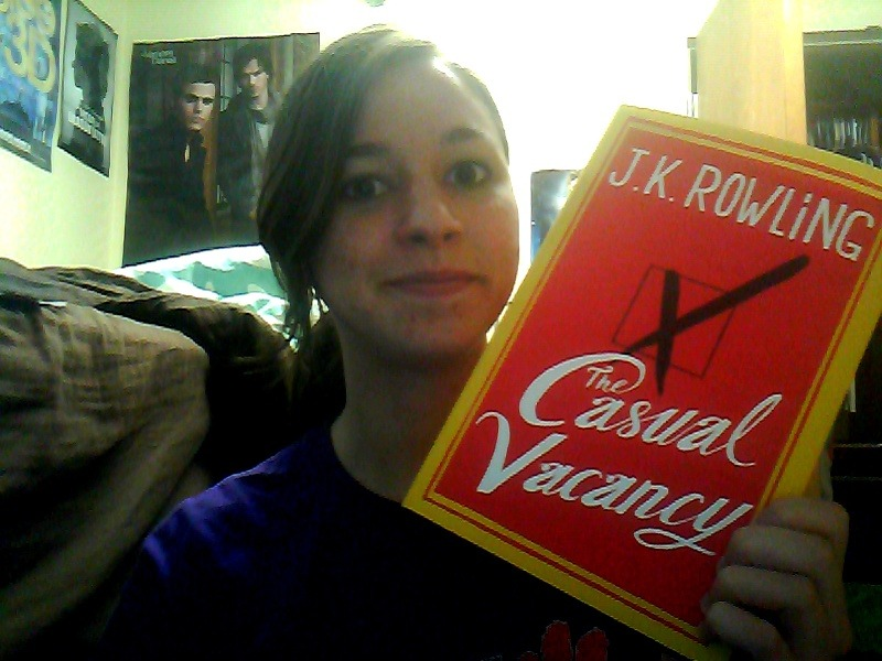 Just got back from the store to pick up The Casual Vacancy! I'm so excited to read it!!!! :D