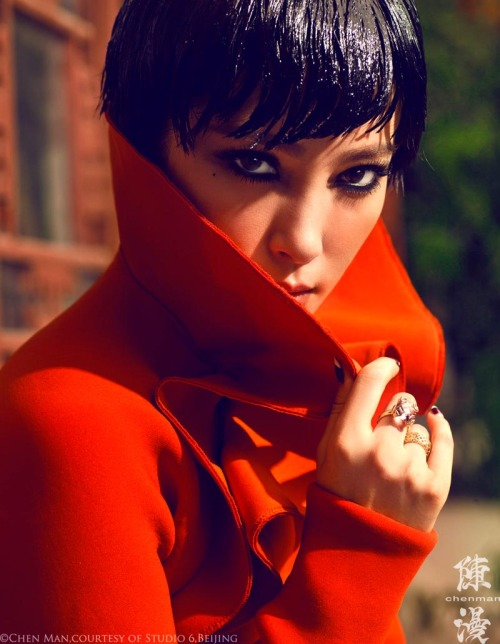 (via Li Bing Bing Marvels in Vogue China's October Cover Shoot by Chen Man)