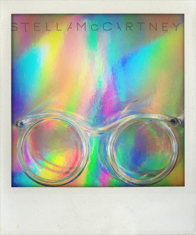 selfservicemagazine:  Stella McCartney straw glasses invitation