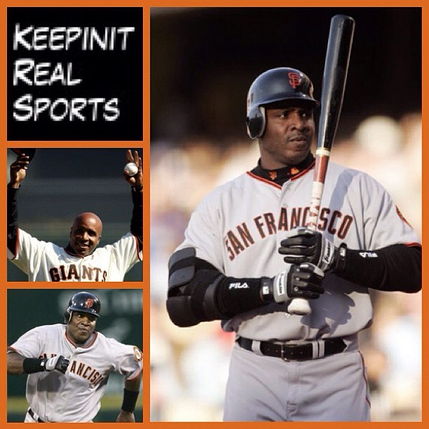 This Day In Baseball History: September 27,1996 - Barry Bonds (San Francisco Giants) became the second MLB player to record 40 home runs and 40 stolen bases in the same year.   #keepinitrealsports #History #BarryBonds #SanFrancisco #Giants #homeruns #stolenbases #MLB #Baseball #Sports #MysterKeepinit  (Taken with Instagram)
