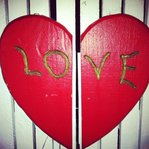 #DailyBliss = finding love in unexpected places!  (Taken with Instagram)
