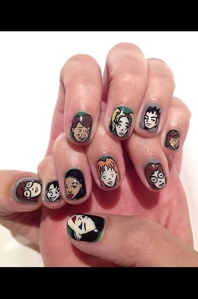Daria nails from Katy Perry's twitter